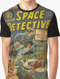 Space Detective No.1 Graphic T-Shirt