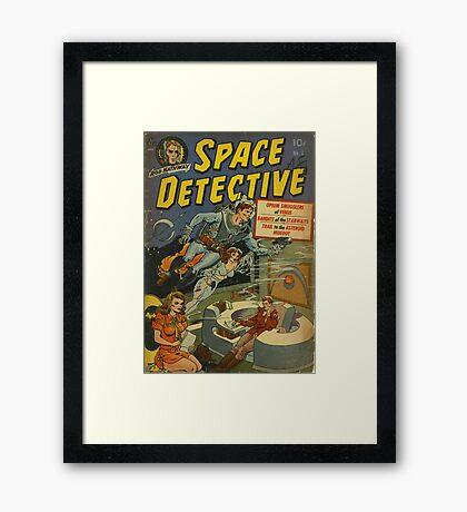Space Detective No.1 Framed Print