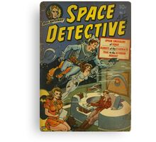 Space Detective No.1 Canvas Print