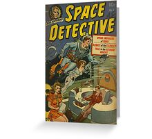 Space Detective No.1 Greeting Card
