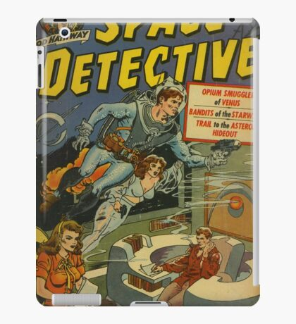 Space Detective No.1 iPad Case/Skin