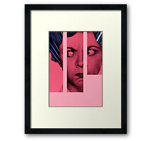 woman collage_02 Framed Print
