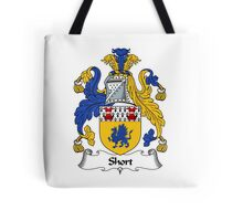 Short Coat of Arms / Short Family Crest Tote Bag