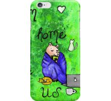 This Little Piggy Stayed Home And Caught Up On GoT iPhone Case/Skin