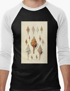 Thesaurus conchyliorum Monographs of genera of shells George Brettingham Sowerby 1887 V1-V5 515 Men's Baseball ¾ T-Shirt