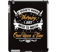 Watch Once Upon A Time iPad Case/Skin