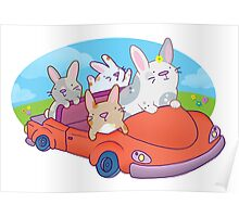 YOLO Bunnies Poster