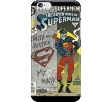 SUPERBOY iPhone Case/Skin