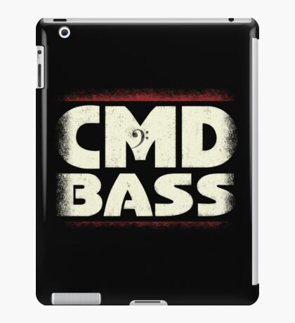 CMD Bass iPad Case/Skin
