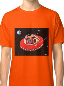 RED FLYING SAUCER Classic T-Shirt