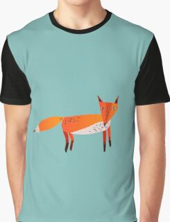 Fox Lonely Graphic T-Shirt