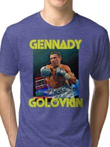 GGG Gennady Golovkin Tri-blend T-Shirt