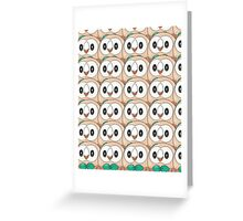 Rowlet (too many) Pokemon shirt Greeting Card