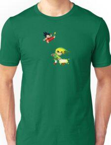 Link Vs Kid Goku 2 Unisex T-Shirt