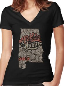 Alabama Shakes Women's Fitted V-Neck T-Shirt