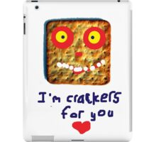 crackers for you iPad Case/Skin
