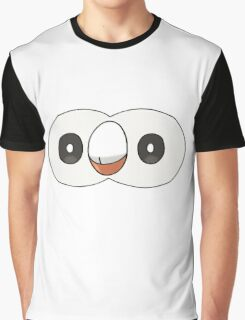 Rowlet Face (PNG) Graphic T-Shirt