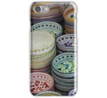 Colorful Dishes in Orvieto iPhone Case/Skin