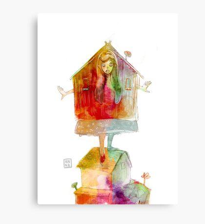 Wonderland Mabel Canvas Print