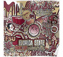 Florida State Collage Poster