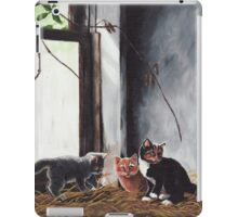 Kittens Playing iPad Case/Skin