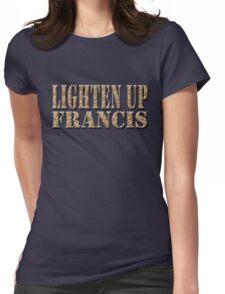 LIGHTEN UP FRANCIS - desert camo Womens Fitted T-Shirt