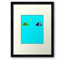 Slime Match (90's love <3) Framed Print