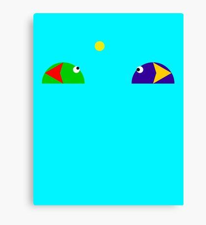 Slime Match (90's love <3) Canvas Print