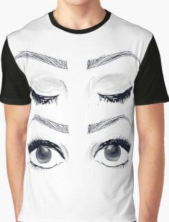Four eyes Graphic T-Shirt
