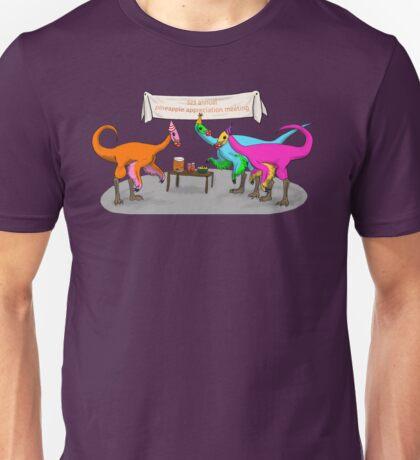 Ornithomimus Party Unisex T-Shirt