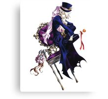 The Mad Hatter (Pandora Hearts) Canvas Print