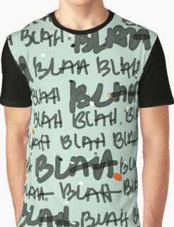 BLAH BLAH mint Graphic T-Shirt