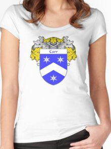 Carr Coat of Arms/Family Crest Women's Fitted Scoop T-Shirt