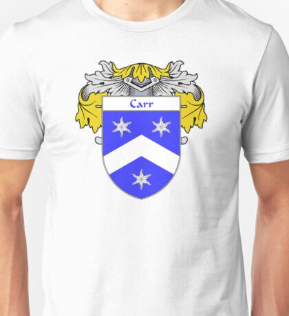 Carr Coat of Arms/Family Crest Unisex T-Shirt