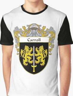 Carroll Coat of Arms/Family Crest Graphic T-Shirt
