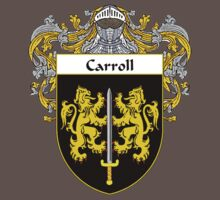 Carroll Coat of Arms/Family Crest Baby Tee