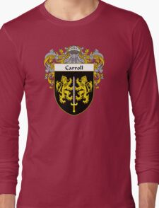 Carroll Coat of Arms/Family Crest Long Sleeve T-Shirt