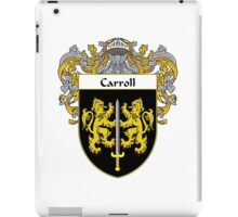 Carroll Coat of Arms/Family Crest iPad Case/Skin