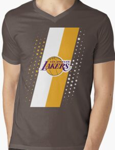 Los Angeles Lakers Mens V-Neck T-Shirt