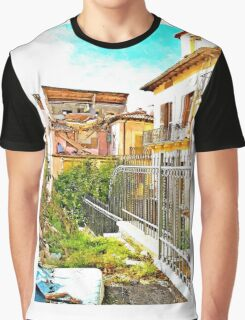 L'Aquila: collapsed house Graphic T-Shirt