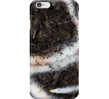 roots in brown garden soil iPhone Case/Skin