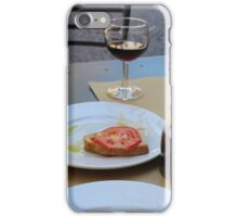 Food on a Table in Orvieto iPhone Case/Skin