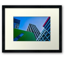 Brisbane Architecture by Gaye G Framed Print