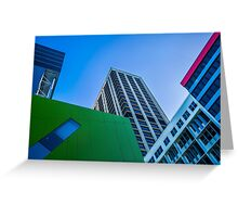 Brisbane Architecture by Gaye G Greeting Card