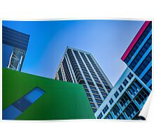 Brisbane Architecture by Gaye G Poster