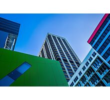 Brisbane Architecture by Gaye G Photographic Print