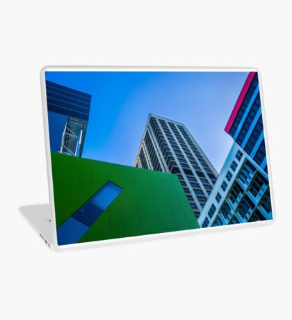 Brisbane Architecture by Gaye G Laptop Skin