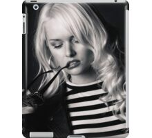 Let me think a moment iPad Case/Skin
