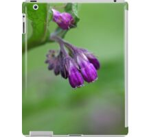 Flowers and blossoms of common comfrey iPad Case/Skin