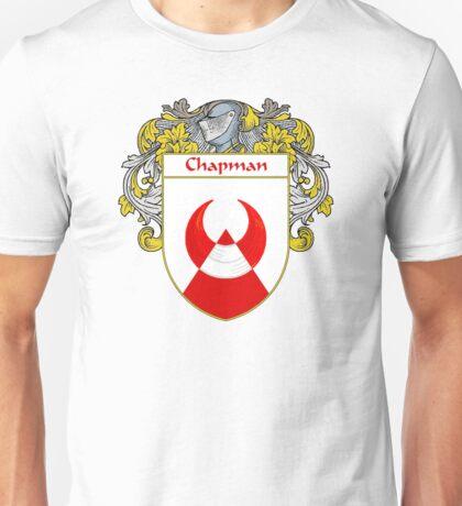 Chapman Coat of Arms/Family Crest Unisex T-Shirt
